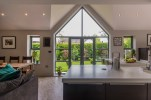 Gable end window from kitchen into garden