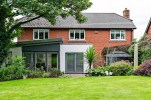 Single storey extension with corner bifolds