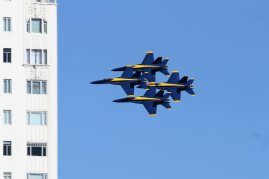 United States Navy Blue Angels. San Francisco Fleet Week 2015.