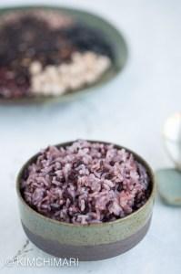 Korean Purple Black Rice