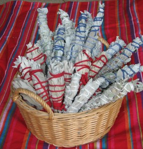 White Sage Smudge Sticks/Paloma Cervantes/Wikimedia Commons