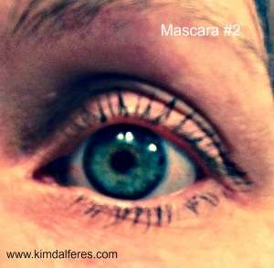 mascara #2 with text