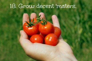 tomatoes with text