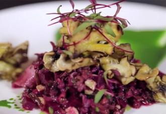 Grilled Mushroom & Beet Salad | Kim D'Eon