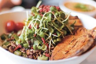 Healthiest Vegetarian Restaurants Toronto | Kim D'Eon, Holistic Nutrionist
