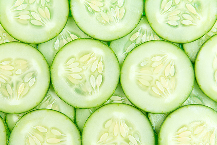 Best foods for skin that glows - Silica, Cucmbers | Kim D'Eon