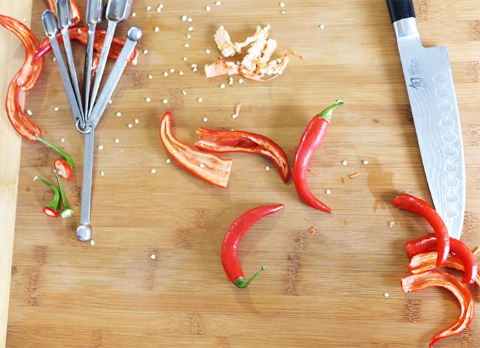 How To Seed Jalapenos or Chilis | Kim D'Eon & Michael van den Winkel