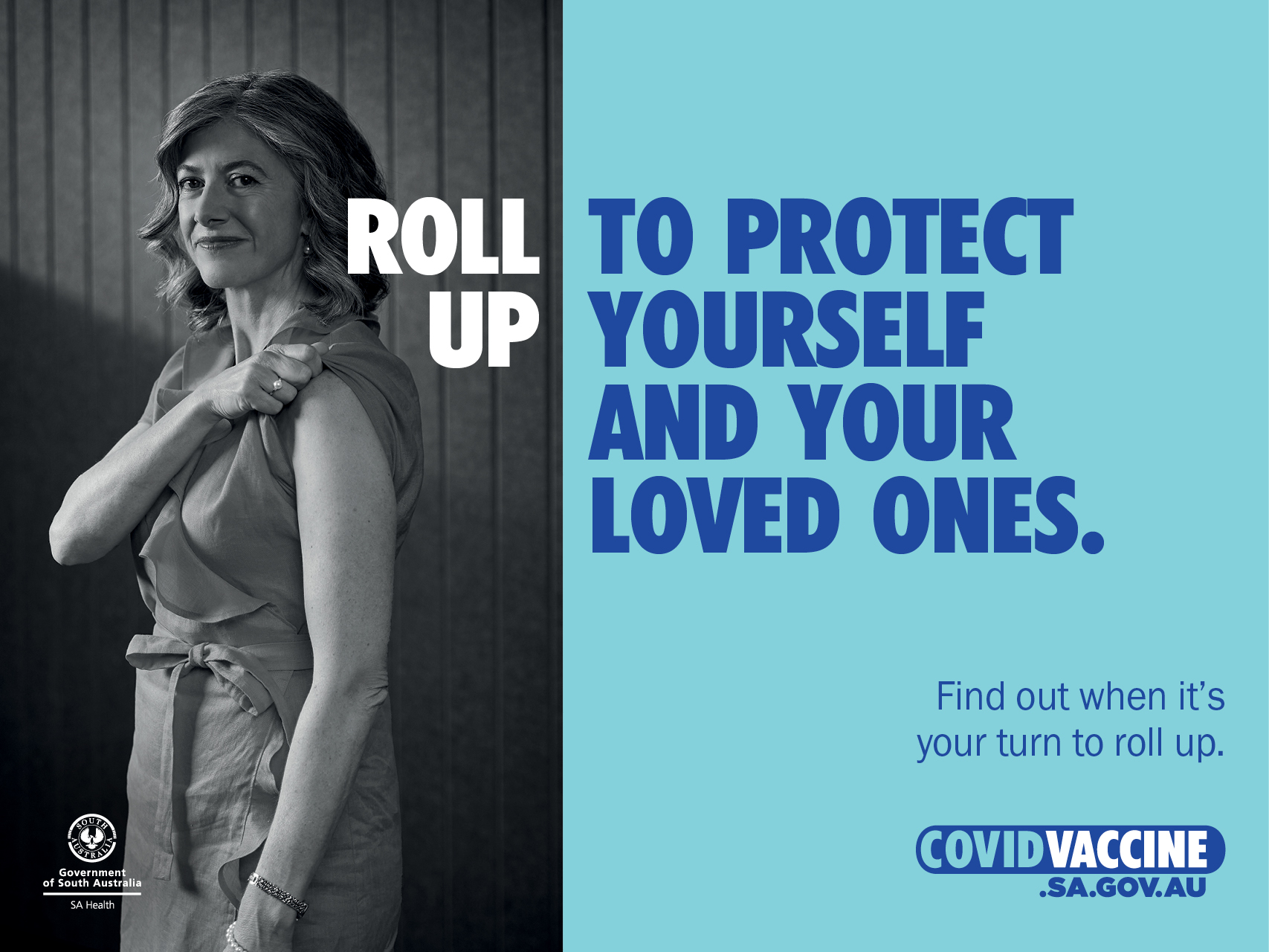 Roll up to protect yourself and your loved ones. Find out when it's your turn to roll up.