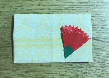 折り紙 カーネーションの簡単な折り方!平面なら可愛いカードにも!
