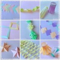 七夕飾り折り紙で簡単!おしゃれで可愛い作り方【16選】