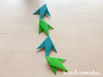 七夕飾りは折り紙で作ろう♪簡単で可愛い笹の葉の折り方をご紹介します☆