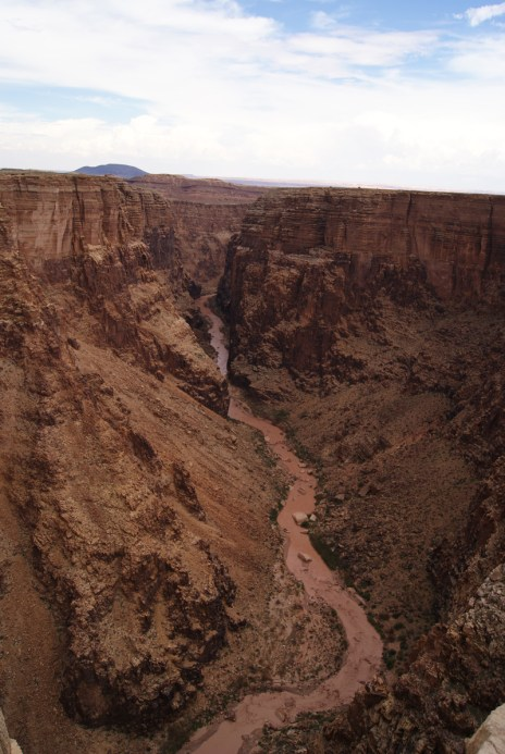 Colorado River bij de Navajo's