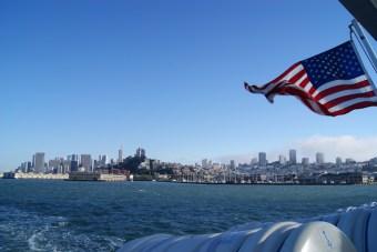 Skyline vanaf de boot