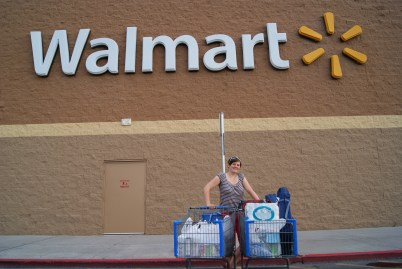 Shoppen bij Walmart!