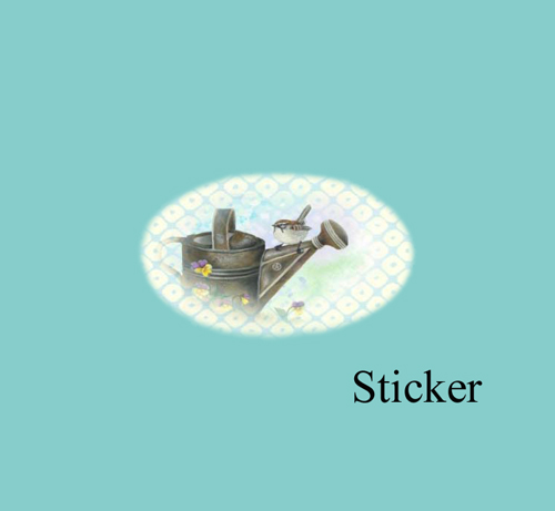 pansy-sticker-thank-you-card