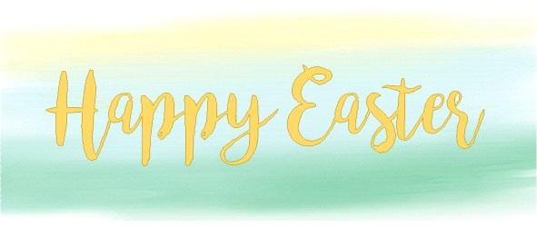 Happy Easter message