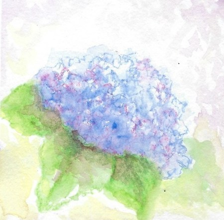 second try painting hydrangeas and my all time favorite