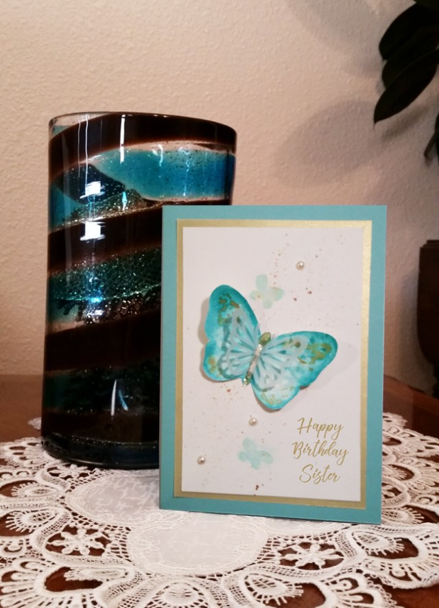 Pearls-and-Painted-Butterfly-Sister-Birthday-Card-with-vase-photo