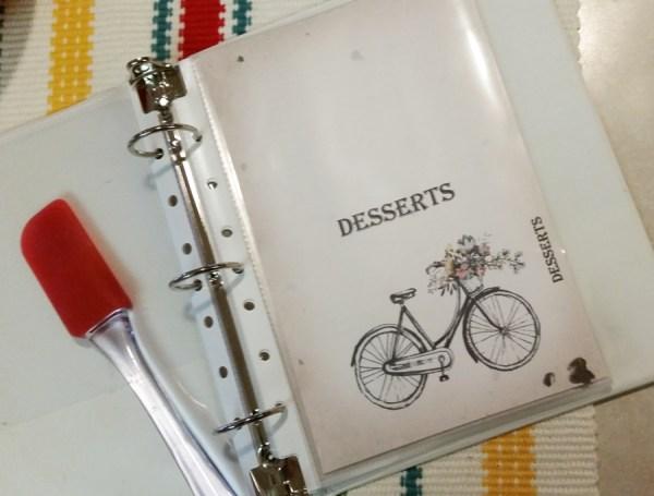 Carol-Recipe-album-desert-page