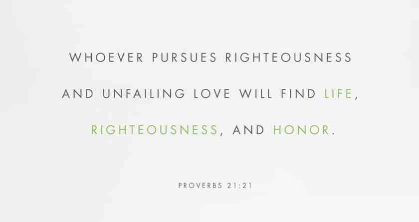 Whoever Pursues LOVE