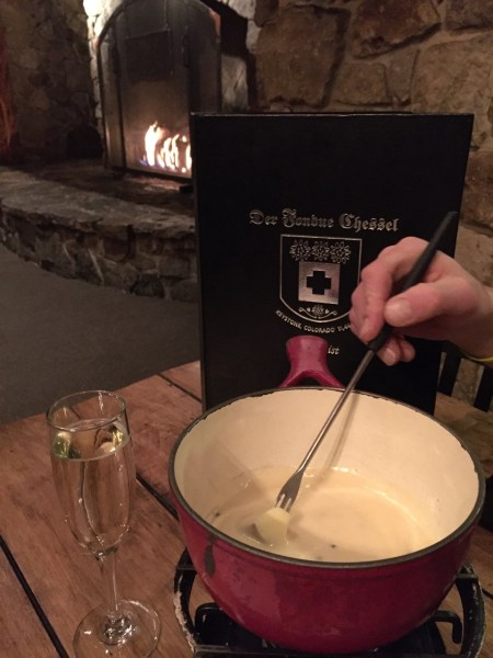 Cheese fondue by Kim Fuller