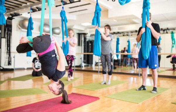 AIReal Yoga takes flight at The Athletic Club at The Westin in Avon