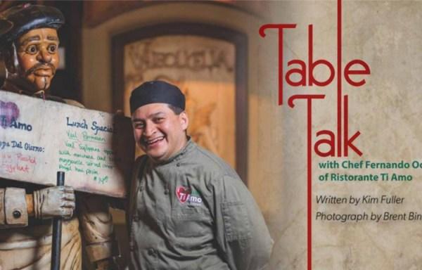 Chef Profile With Fernando Ocampo Of Ristorante Ti Amo