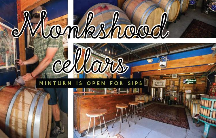 Monkshood Cellars in Minturn is open for sips