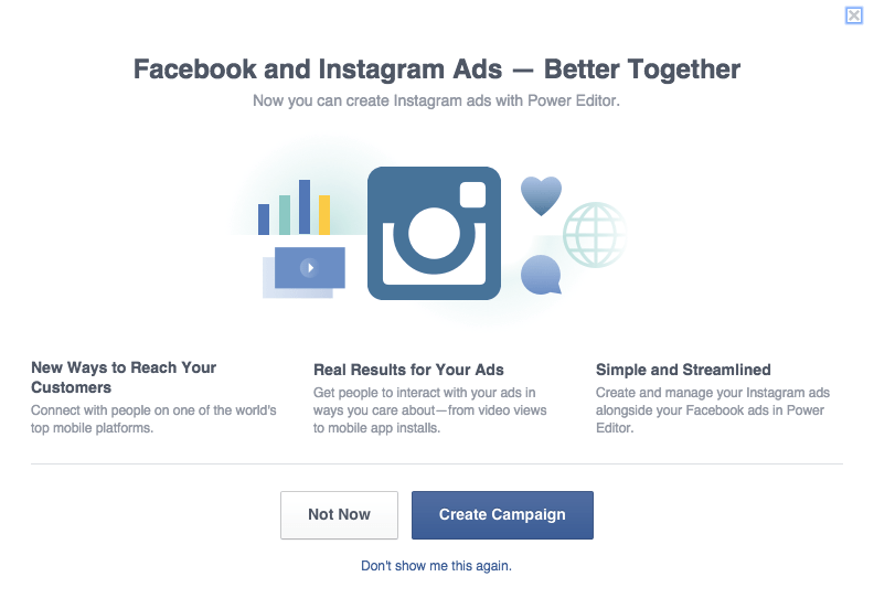4 Benefits to Advertising on Instagram Instagram  Instagram-Ads-Popup