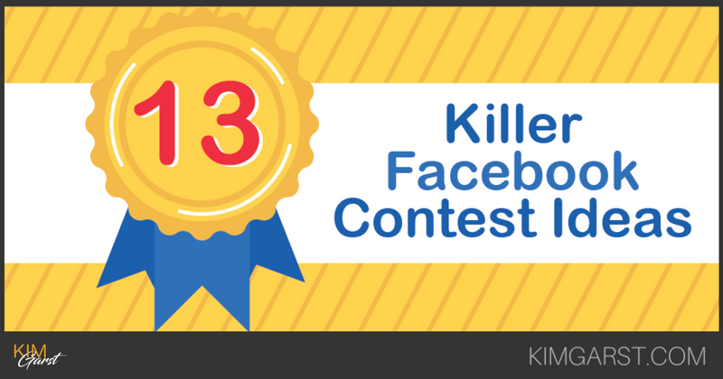 13 Killer Facebook Contest Ideas