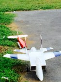 Buder Park Plane on ground