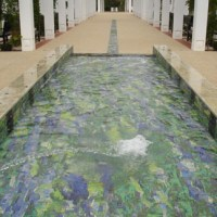 The House of Representatives Gardens: Mosaic Fountain