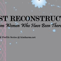 """Breast Reconstruction Thoughts - Valerie McClure - """"Going Flat"""" after Mastectomy"""