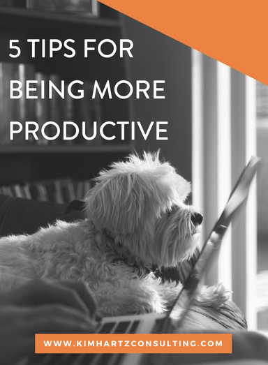 5 productivity tips (that actually work)
