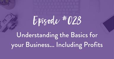 Episode 028: Understanding Business Basics