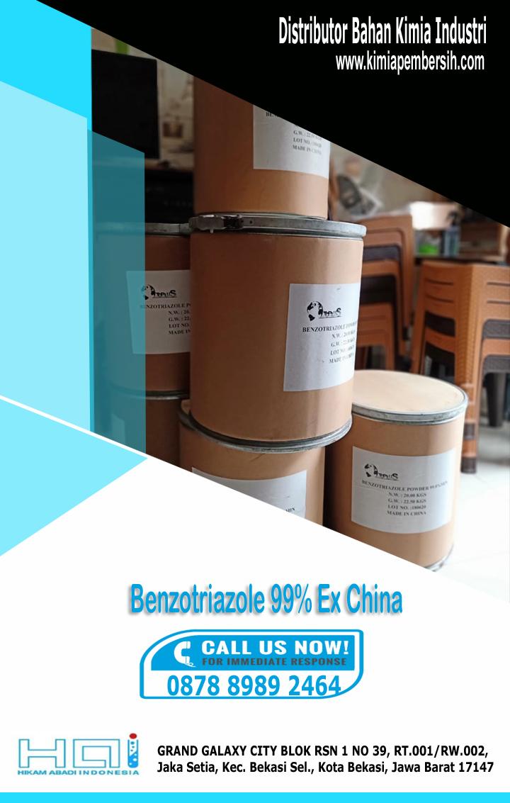 Benzotriazole 99% ex china Cilegon   Surabaya   Bogor