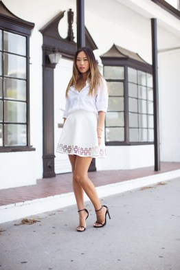 song_of_style_lovers_and_friends_skirt_saint_laurent_heels_2