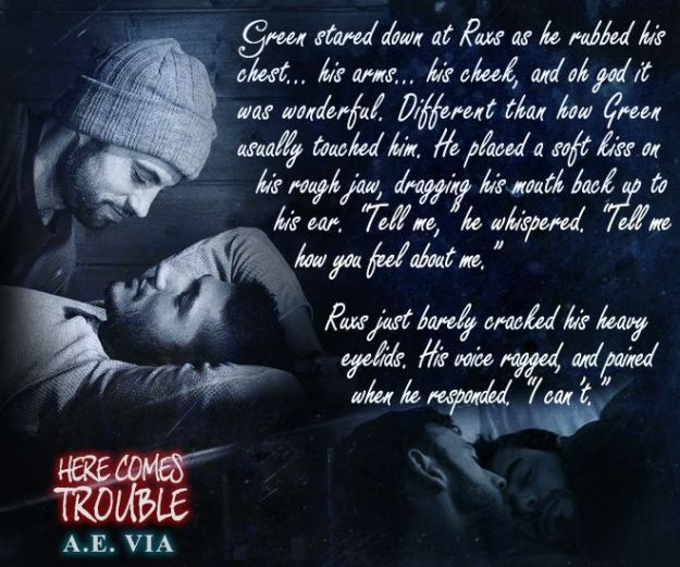 #01 Here Comes Trouble (Teaser 2)