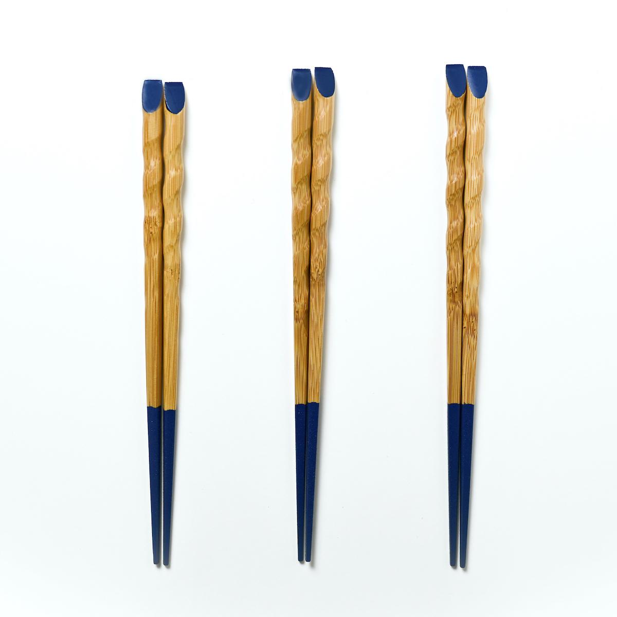 きみの箸 竹箸 茄子漬 三膳セット