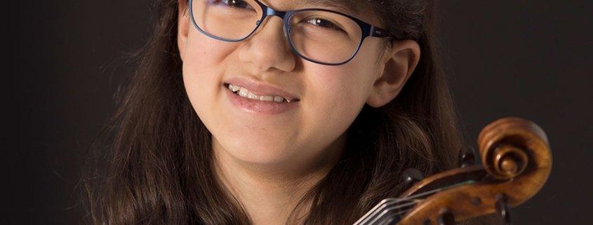Violinisten Maya Wichert
