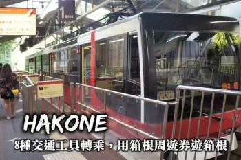 箱根交通整理-海賊船、纜車、電車、巴士轉乘,利用箱根周遊券規劃箱根一日遊!