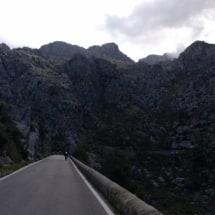 Klim naar top van Coll dels Reis