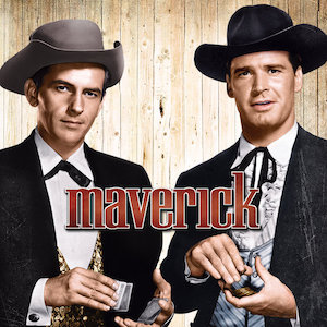 The TV series Maverick