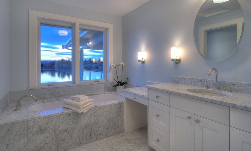 Master bath, Wing Point