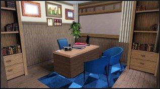 Headmaster Elliot Murray's office.