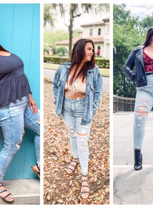 Style One Pair of American Eagle Jeans Three Ways