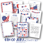 Fourth of July Activities With Free Printables