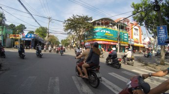 I found the traffic in Da Nang to be tolerable, not as bad as Ho Chi Minh.