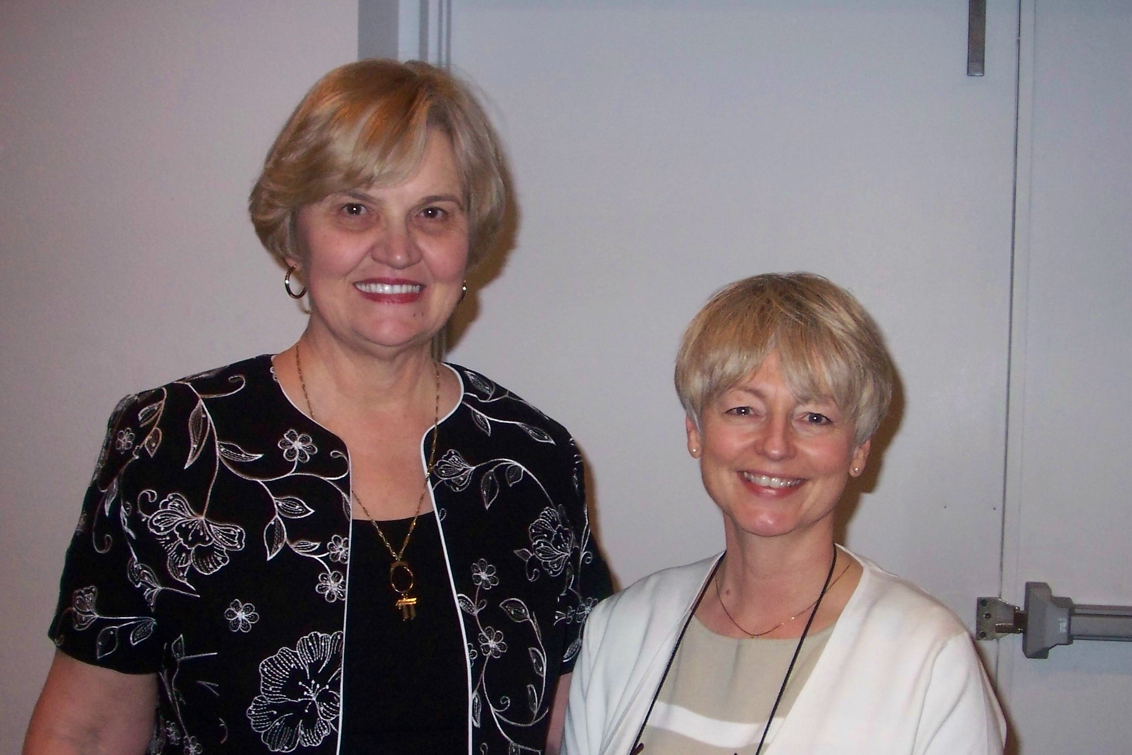 Jewel Grewe and myself at the conference in Spring Hill, Florida.