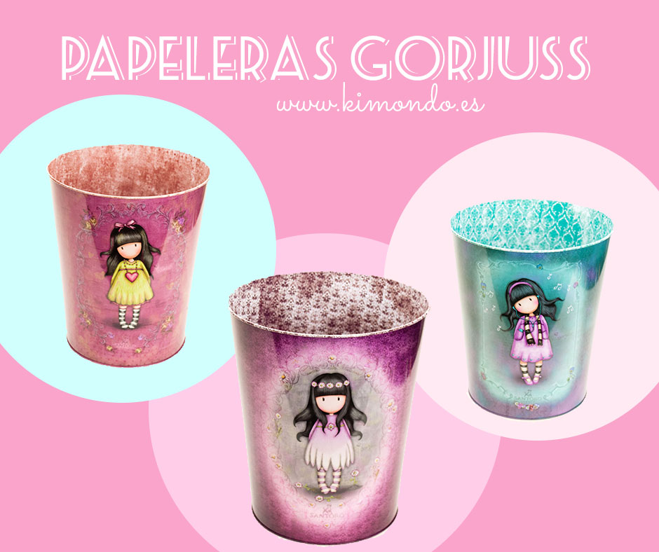 Papeleras Gorjuss KimondoShop
